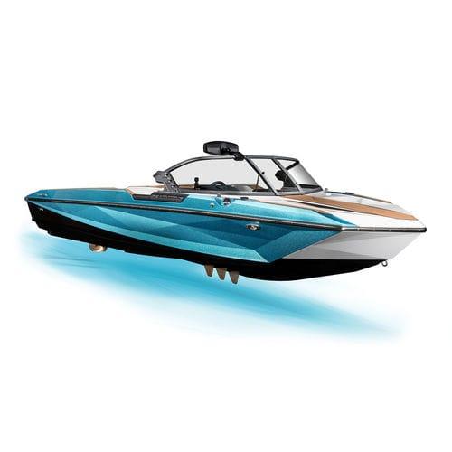 небольшой катер с внутренним мотором / с двойной консолью / для водных лыж / макс. 7 человек