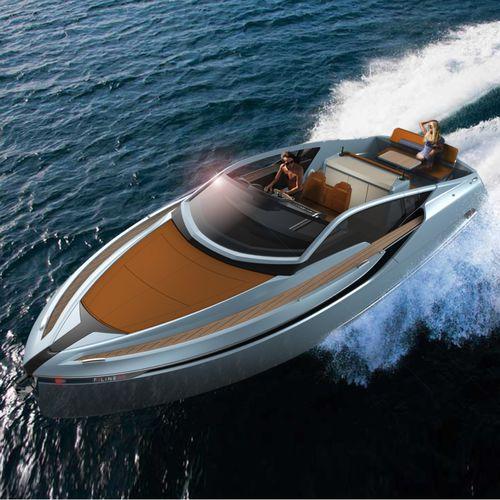 быстроходный катер с внутренним мотором / дизельный / двухмоторный / макс. 10 человек