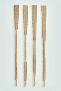 короткое весло для вспомогательной шлюпки / деревянный