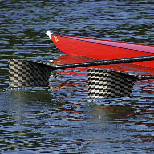 короткое весло для скифа / из углерода