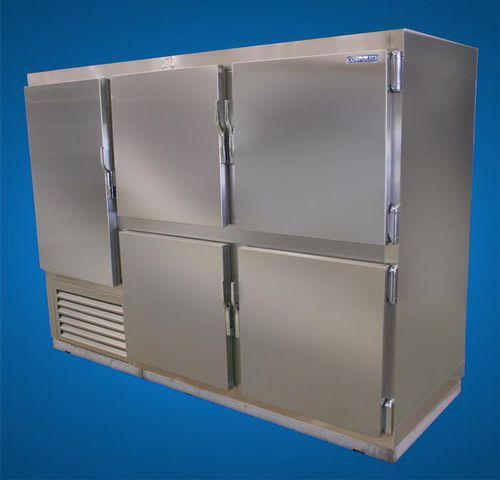 морозильная камера для судна / прямостоящая / из нержавеющей стали