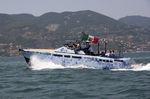 Открытый катер с внутренним мотором / корпус глиссирующего типа / из алюминия / макс. 10 человек LAP-1 Baglietto spa