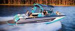 небольшой катер с внутренним мотором / боурайдер / для водных лыж / макс. 15 человек