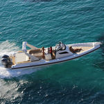 полужесткая надувная лодка / подвесная / двухмоторная / с центральной консолью