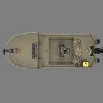Плоскодонка . / с центральной консолью / для спортивной рыбалки / из алюминия 1860 MVX SPORTSMAN Triton Boats