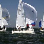 Парус грот / для килевого спортивного монотипа / J22 / с горизонтальным сечением  Ullman Sails