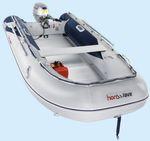 подвесная надувная лодка / складная / из алюминия / алюминиевый пол
