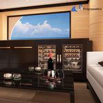винный шкаф для яхты / на заказ / для судов