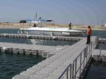 плавучий понтон / модульный / для причаливания / для яхтенной стоянки