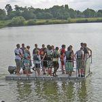 платформа для катеров / для яхтенной стоянки / многофункциональная / модульная