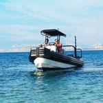 подвесное рабочее судно / надувная лодка