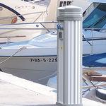 стойка со встроенным освещением / для распределения электроэнергии / для распределения воды / для понтона