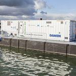 система обработки балластной воды / для судна / в контейнере