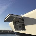 боковой откидной борт для судна / для яхты