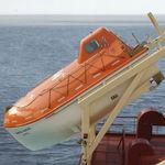 свободнопадающая спасательная шлюпка / для судна