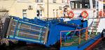 судно против загрязнейний катамаран / с внутренним мотором
