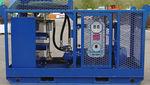 гидравлическая установка для катера / для судна / для систем сбора разливов нефти / с электродвигателем