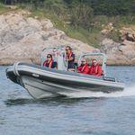 катер береговой охраны / рабочее судно / c подвесным мотором / из алюминия
