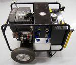 гидравлическая установка для очистного катера / для портов и терминалов / с электродвигателем / с дизельным двигателем