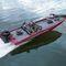 рыбацкая лодка c подвесным мотором / с боковой консолью / для спортивной рыбалки / из алюминия