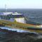Служебный катер для плавания в открытом море из алюминия FPSV 19W Piriou
