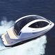 прогулочный катер / водомет для установки на борту / дизельный / электрический