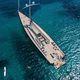 круизная элитная парусная супер-яхта / с открытым местом для пилота / 3 каюты / шлюп