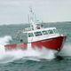 катер береговой охраны / водомет для установки на борту / из алюминия