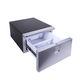холодильник для катера / встраиваемый / из нержавеющей стали / с выдвижным ящиком