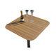 стол для катера / для яхты / из тикового дерева