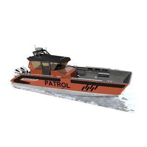 профессиональный катер рабочее судно / катер береговой охраны / спасательное судно / военный катер
