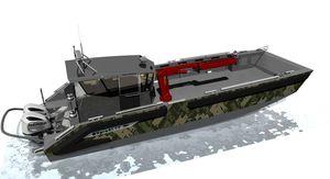 профессиональный катер спасательное судно / катер береговой охраны / рабочее судно / коммерческое судно