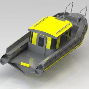 профессиональный катер катер береговой охраны / коммерческое судно / спасательное судно / пассажирское судно