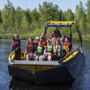 профессиональный катер рабочее судно / коммерческое судно / прогулочный катер / водное такси