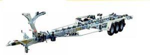 прицеп для разгрузочно-погрузочных работ / для судостроительной верфи / гидравлический / с роликами