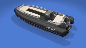 электрическая надувная лодка