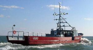 профессиональный катер коммерческое судно / с внутренним мотором / из алюминия