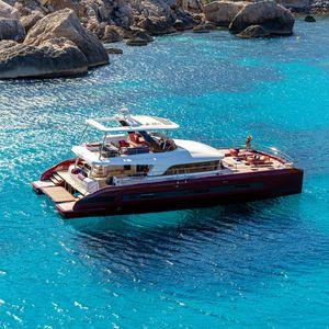 моторная яхта катамаран