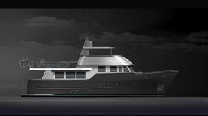 моторная яхта для экспедиций