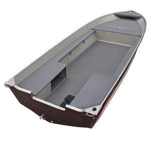 судно для плавания в закрытых водах c подвесным мотором
