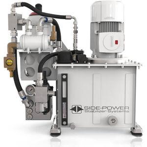 гидравлическая установка для катера / для стабилизатора / с электродвигателем