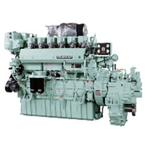 полубыстрый двигатель для судна