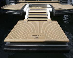 платформа для яхты / для катера / многофункциональная / для купания