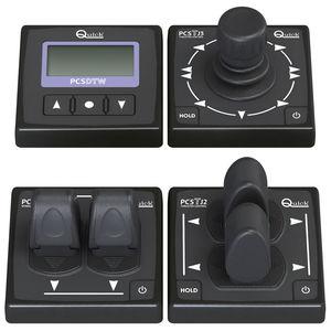 панель управления для катера / для рабочего колеса / брашпиля / с сигнализацией