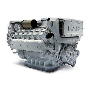 дизельный двигатель для судна