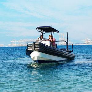профессиональный катер рабочее судно / c подвесным мотором / надувная лодка