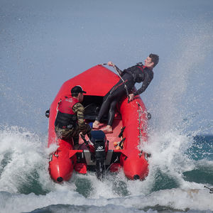 профессиональный катер спасательное судно