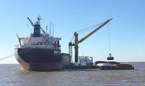 специальное судно кран-баржа