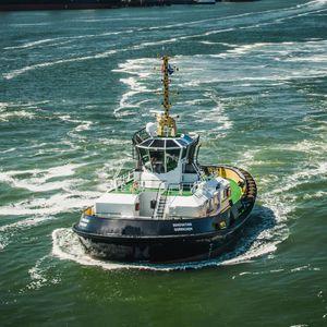 профессиональный катер рабочее судно / буксир / внутренняя поворотно-откидная колонка