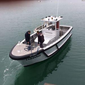 лоцманский катер / швартовый катер / с внутренним мотором